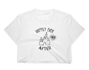 d6cf68dacc810 Happily ever after Crop Top