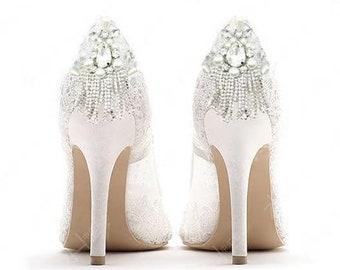 f2fcfe9317f Wedding shoe clips | Etsy