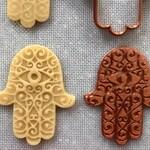 Hamsa Swirl EYE Cookie Cutter w/Fondant Embosser - 2-piece
