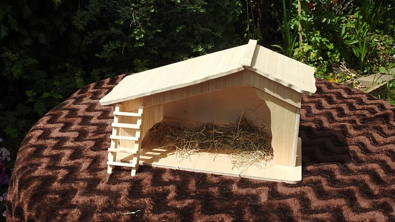 Doormouse shelter box self assembly DIY kit form for wild doormice