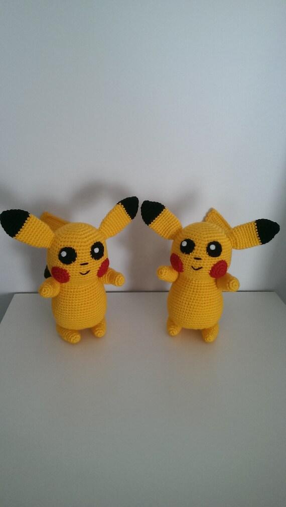 Crochet Pattern BUNDLE: Pikachu & Raichu Amigurumi PDF File in ... | 1008x570