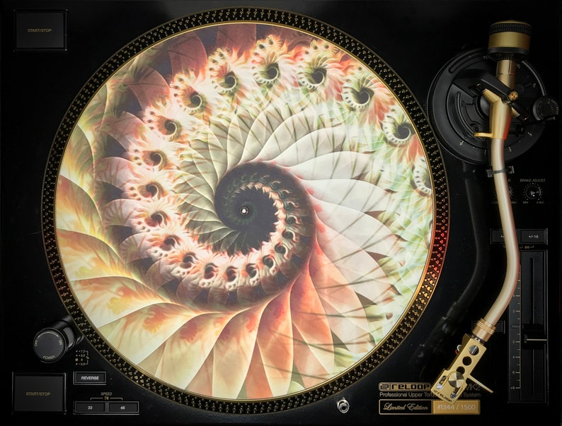 Zoetrope Turntable Slipmat 6 Ancient Memory Edition image 0