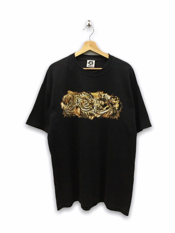 Vintage 90's Hip Hop art rap tee tshirt tee