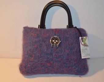 eaafded652 Felted wool purse