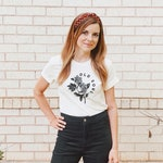 Old Soul Roses Redbud Tee, Graphic T-shirt