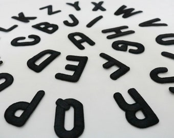 Sew on letters etsy