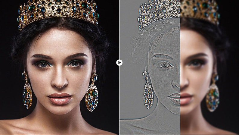 Skin Retouch Actions 100 Professional Retouch Actions Fast Retouch
