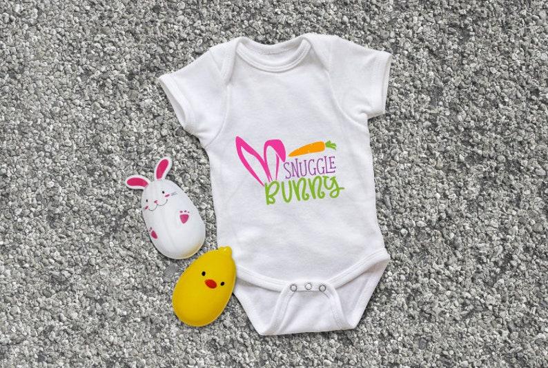 Baby Onesie Snuggle Bunny