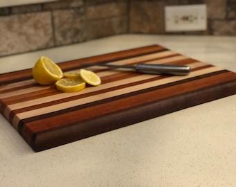 Handmade Cutting board/ Customizable cutting board / Wooden Cutting board/ Pine Wood/ Cherry Wood/ Walnut wood / Christmas gift