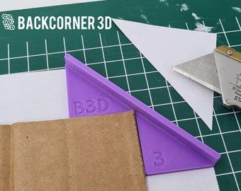 Corner Cutting Tool for Bookbinding / Box Making / Mitering Jig / Cardboard cutting