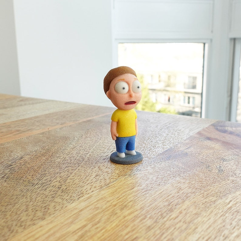 3D Printed Morty from Rick & Morty:  Shocked Version image 0