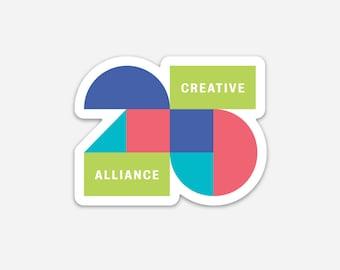 25th Anniversary Creative Alliance Magnet!