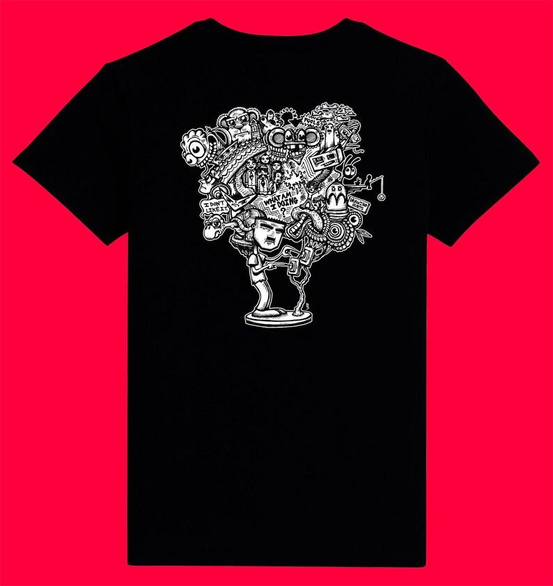 Drawing Hurts T-Shirt image 0