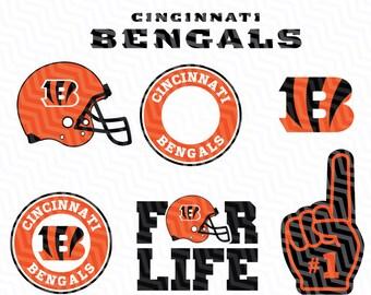 Cincinnati Bengals Svg, Bengals Svg, NFL svg, Football Svg Files, T-shirt design, Cut files, Print Files, Vector Cut File, Football Logo