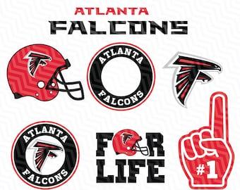 Atlanta Falcons Svg, Falcons SVG, NFL svg, Football Svg Files, T-shirt design, Cut files, Print Files, Vector Cut File, Football Logo