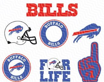 Buffalo Bills NFL Svg,Bills Svg, NFL svg, Football Svg Files, T-shirt design, Cut files, Print Files, Vector Cut File, Football Logo