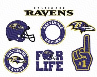 Baltimore Ravens NFL Svg, Ravens Svg, NFL svg, Football Svg Files, T-shirt design, Cut files, Print Files, Vector Cut File, Football Logo
