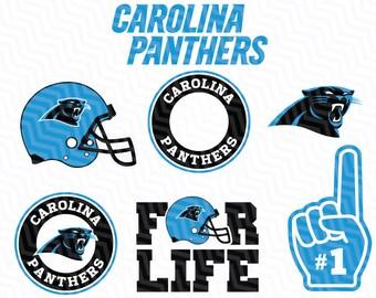 Carolina Panthers Svg, Panthers Svg, NFL svg, Football Svg Files, T-shirt design, Cut files, Print Files, Vector Cut File, Football Logo