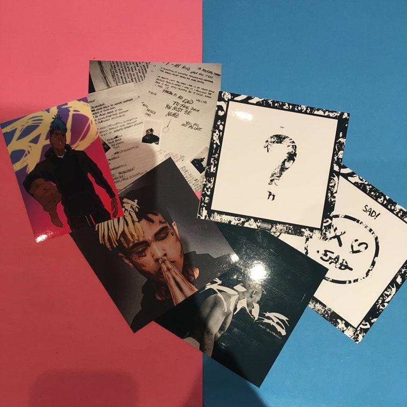 SAD Vinyl Stickers XXXTentacion 2 Stickers
