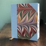 Mindful Planner/Agenda + Dashboard - Customized Reflection - Multi-color Floral Design