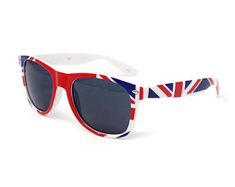 795013594dc6 Great British Flag Sunglasses Union Jack Coloured Adults Classic Style  Sunglasses UV400 Top quality Glasses UV400 Classic Stylish Shades