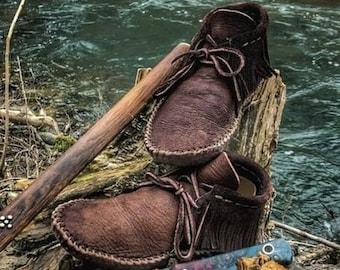 Leather moccasins   Etsy