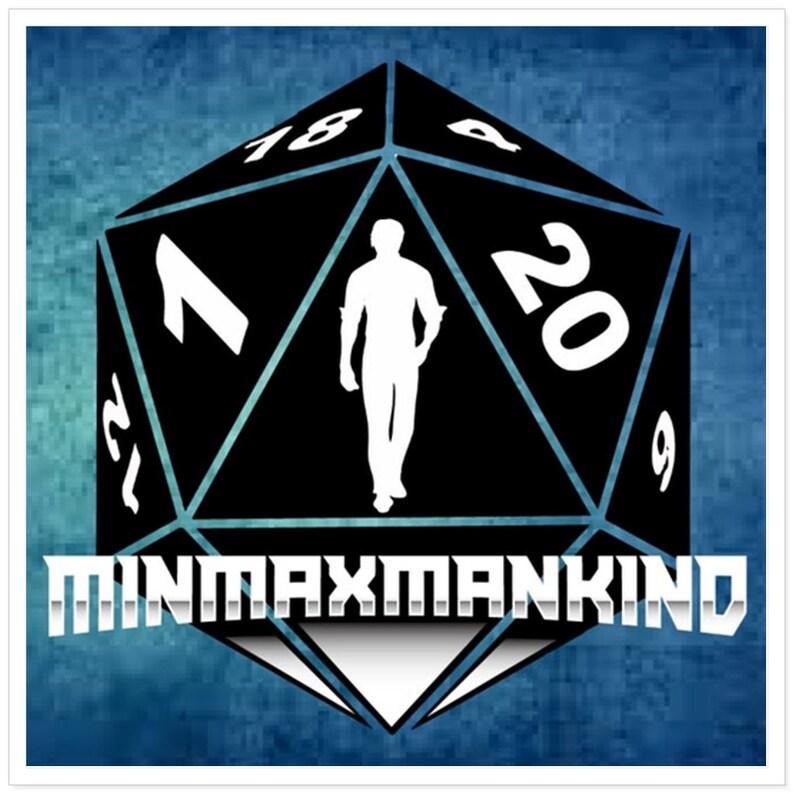 Minmaxmankind 2020 Sticker image 0