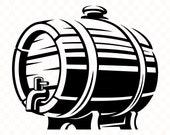 Wood barrel svg Barrel svg Barrel clipart Barrel file Cricut Barrel cut file Wood barrel silhouette Barrel image Barrel png Wood barrel file