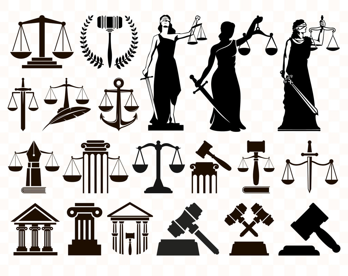 Justice svg Justice svg files Scale of justice svg Courthouse image 0