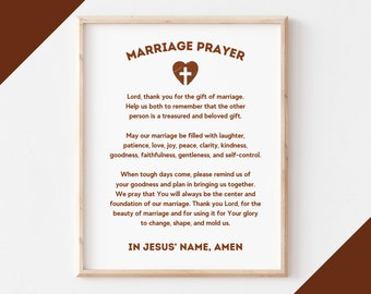 Marriage prayer for newlyweds