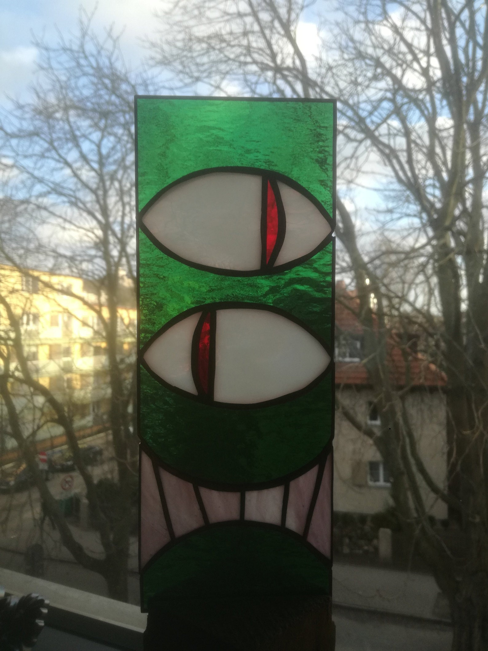 Monster Stained Glass Suncatchers