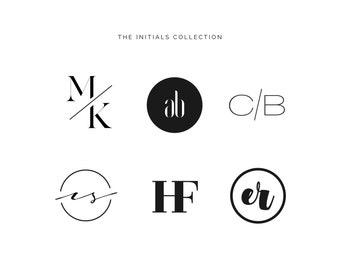 Initial logo | Etsy