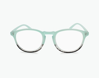 f8590a4f82a Vintage Round Reading Glasses Oval Frame Magnify Readers Men Women