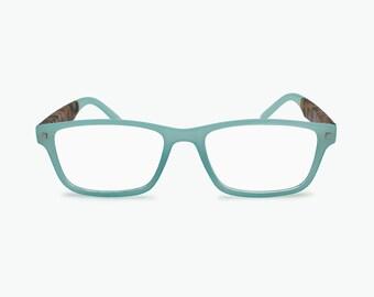 2b8f207499 Rectangular Reading Glasses for Women Designer Inspired Funky Frame Eyewear  Magnify Glasses for Men