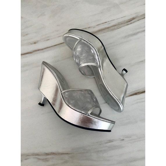 Platform Fendi shoes; vintage platform shoe