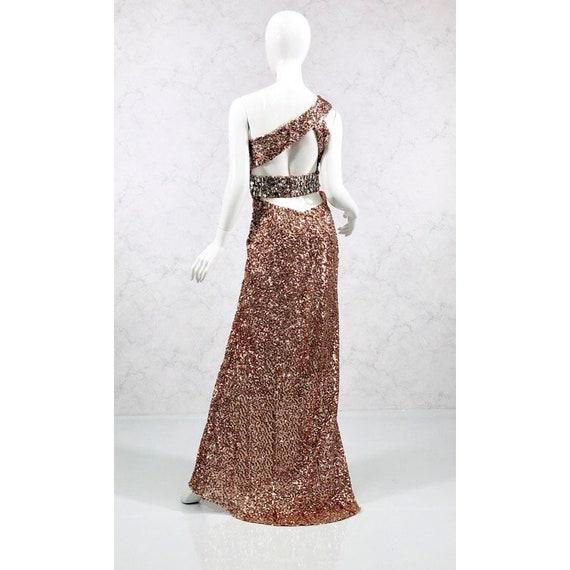 sequin gown, formal gown, black tie attire - image 4