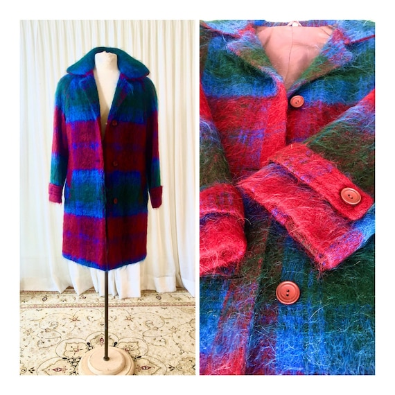 Vintage Mohair winter jacket - image 1