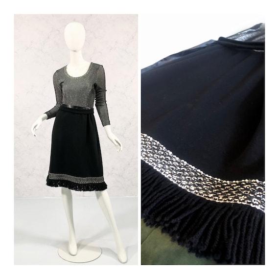 Metallic vintage dress