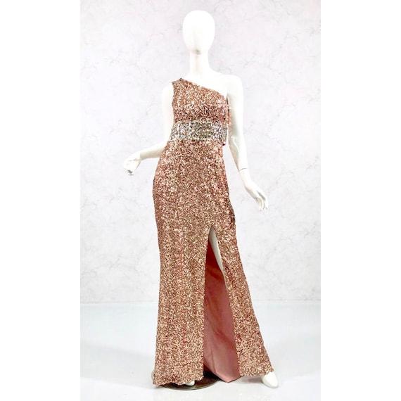 sequin gown, formal gown, black tie attire - image 2
