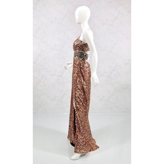 sequin gown, formal gown, black tie attire - image 3