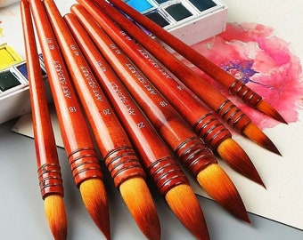 all styles Red Star Wool Calligraphy and Painting Brush S