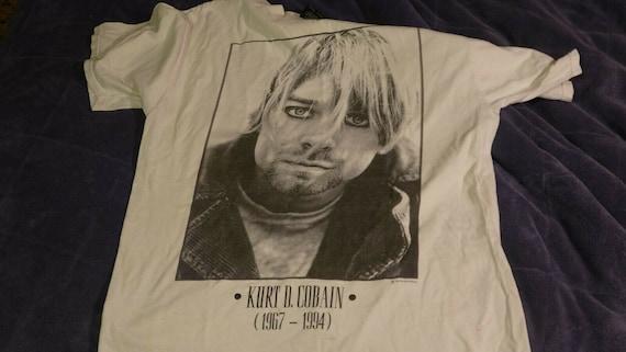 Nirvana Kurt Cobain Memorial 1994 T Shirt