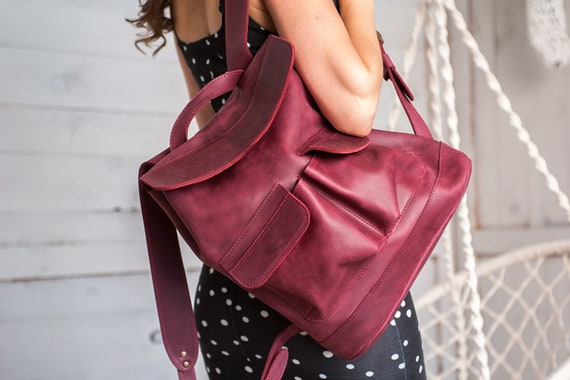 Custom leather rucksack, Mini backpack, Leather backpack women,Laptop backpack,Small backpack,Small leather backpack,Backpack women,Rucksack