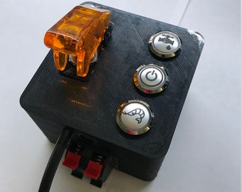 Breakout box for Apex Controller with LED Illuminated Buttons and External  Switch connections