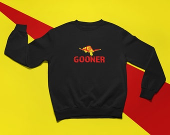 ee6dcaea9 Arsenal FC Fan Sweatshirt Gooner Arsenal Football Sweatshirt for Any Soccer  Occasion A Great AFC Gift Idea Arsenal FC Come On You Gunners