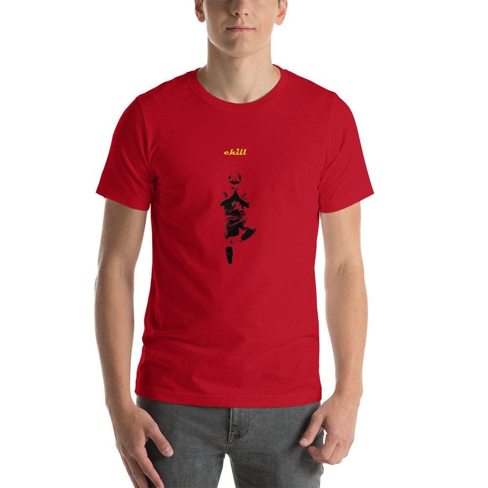 57b7baabe51 Liverpool Soccer T Shirt Mo Salah Chill Liverpool Football Top Mohammed  Salah Tee Premium Quality Unisex Shirt