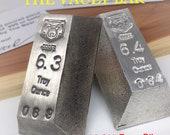 999 silver bar, pure silver bar, silver bullion, silver vault bar, hand poured bar, troy ounces, The Bear silver bar, vintage silver