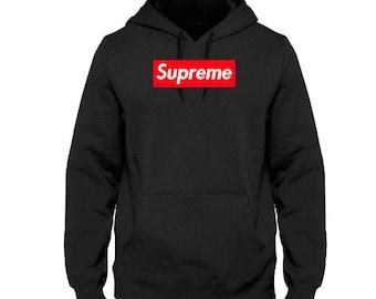 94b55fe477d2 SUPREME Red Box Logo Men s Sweatshirt Hoodie