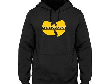 26f496cab1 Wu Tang Clan Classic Men s Logo Hoodie Sweatshirt