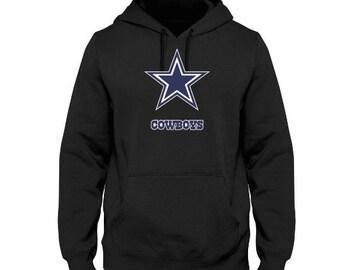 ae4305d9d Dallas Cowboys logo men s custom made hoodie